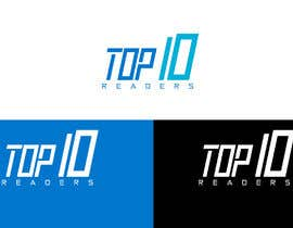 #105 untuk design a logo for TOP 10 READERS oleh JohnDigiTech