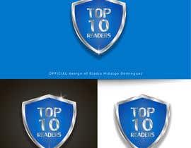 #101 untuk design a logo for TOP 10 READERS oleh EladioHidalgo