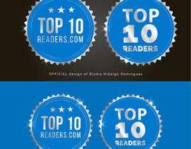#103 untuk design a logo for TOP 10 READERS oleh EladioHidalgo
