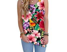 #98 для Design printed floral vest от josepave72