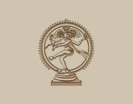 #14 para Draw a vector image of Nataraja (Dancing Shiva) in black and white por rayhanabu585