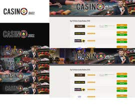 #6 for https://Casino.buzz is the Best Online Casino Reviews website for 2018 - We need a full width header banner and an animated logo by itsAlejandro