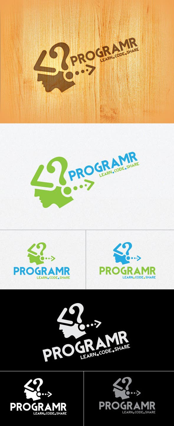 #183 for Logo Design for Programr by tarek433302