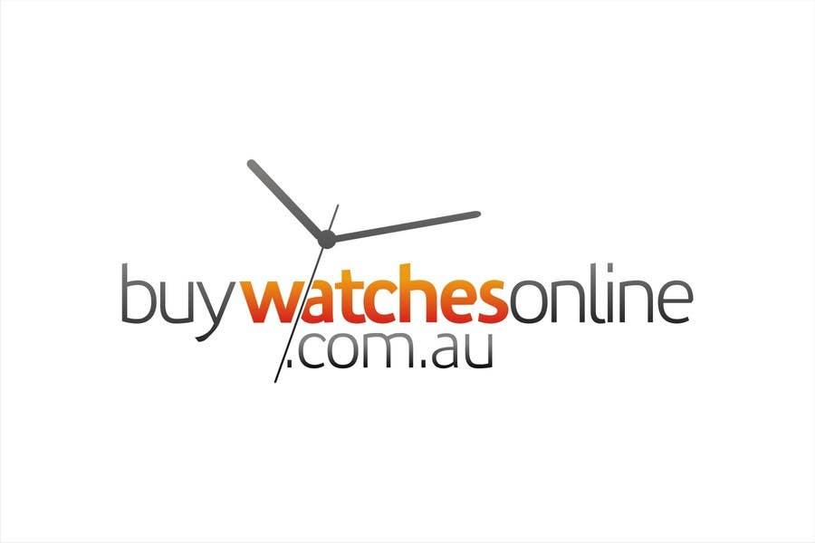 Penyertaan Peraduan #197 untuk Logo Design for www.BuyWatchesOnline.com.au
