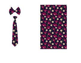 #45 for Need floral design to be printed on cotton fabric/neckties. af Nanthagopal007