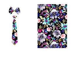#46 for Need floral design to be printed on cotton fabric/neckties. af Nanthagopal007