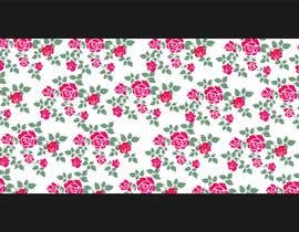#41 for Need floral design to be printed on cotton fabric/neckties. af narvekarnetra02