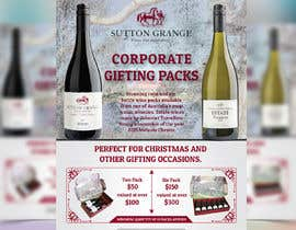#67 for Design a Flyer for Corporate Wine Gift Packs by syhamsmt
