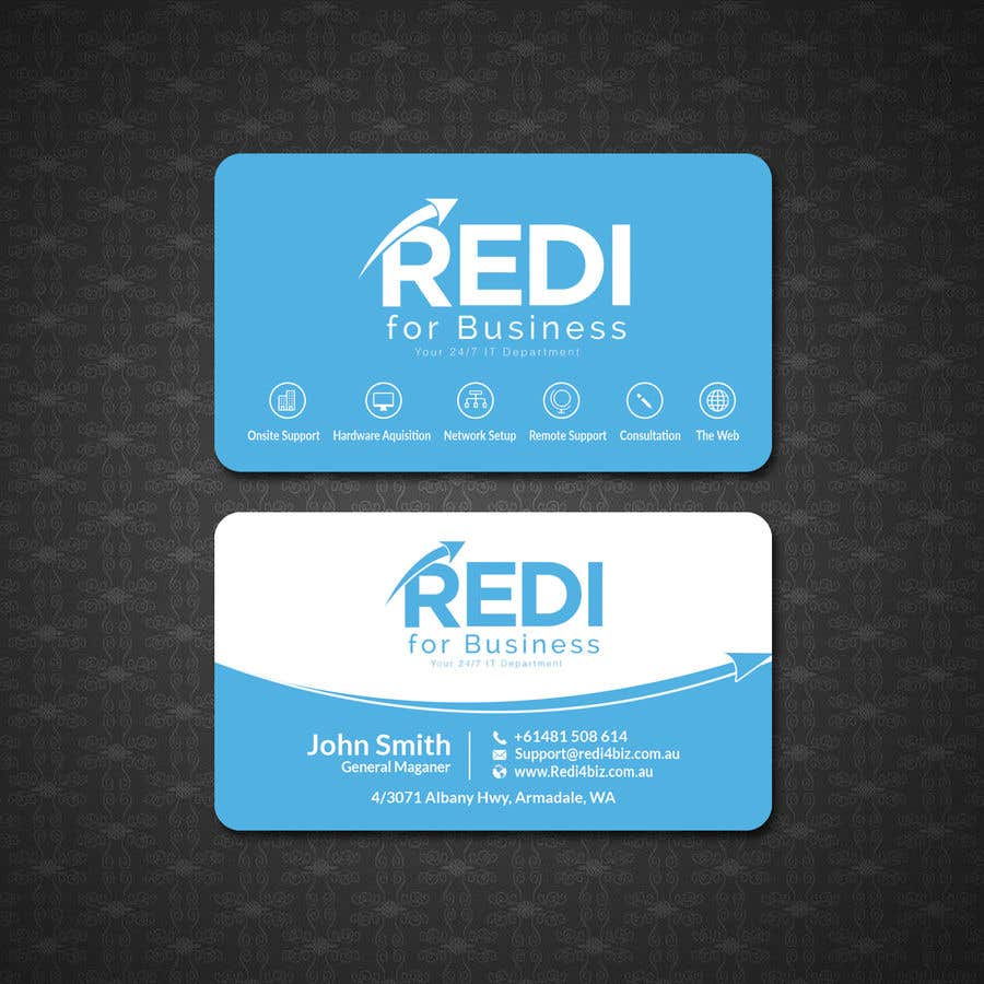 Entry #175 by papri802030 for Design Business card for use