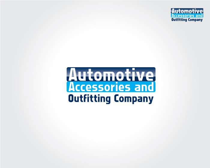 Contest Entry #81 for Logo Design for Automotive Accessories and Outfitting Company
