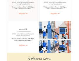 #21 for Web Newsletter template by silvia709
