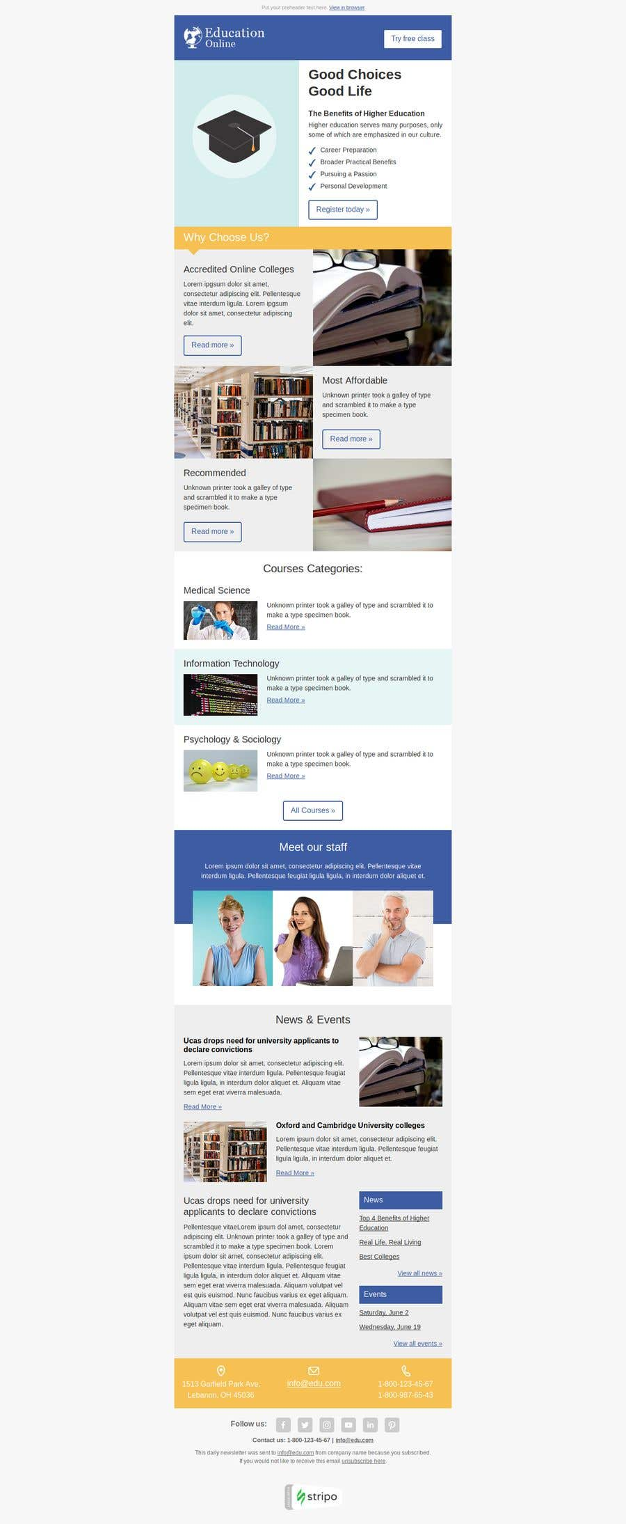 entry 15 by miton247 for web newsletter template freelancer