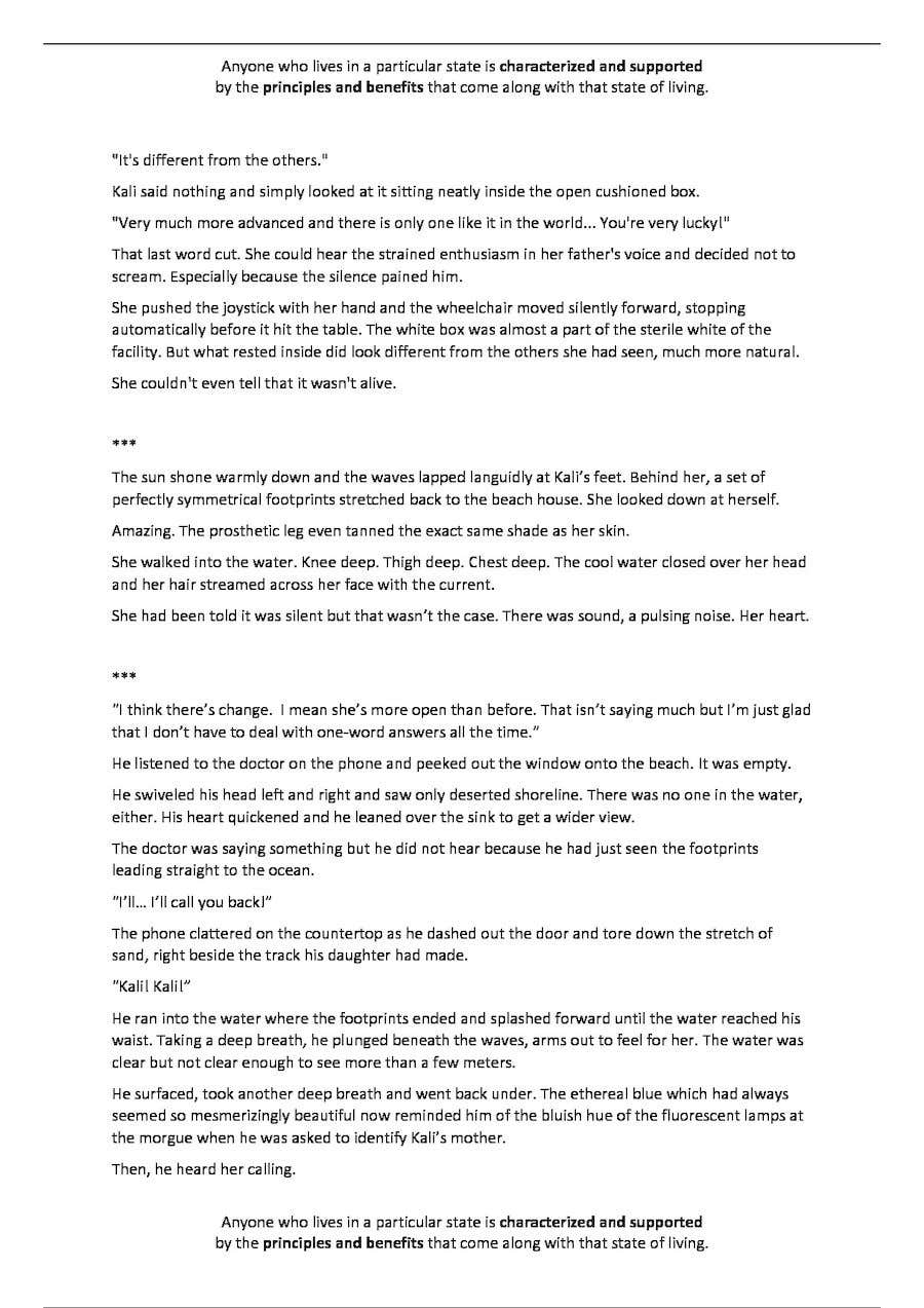 Entry #7 by TerrexTV for Write 3-5 page Short Story  | Freelancer