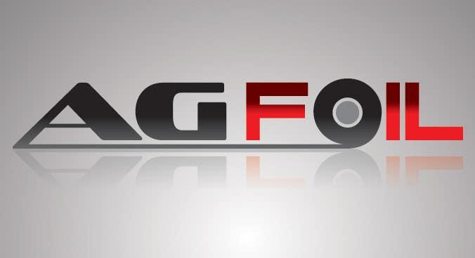 Inscrição nº                                         11                                      do Concurso para                                         Logo Design for AG FOIL
