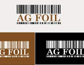 #84 for Logo Design for AG FOIL by anandroshan