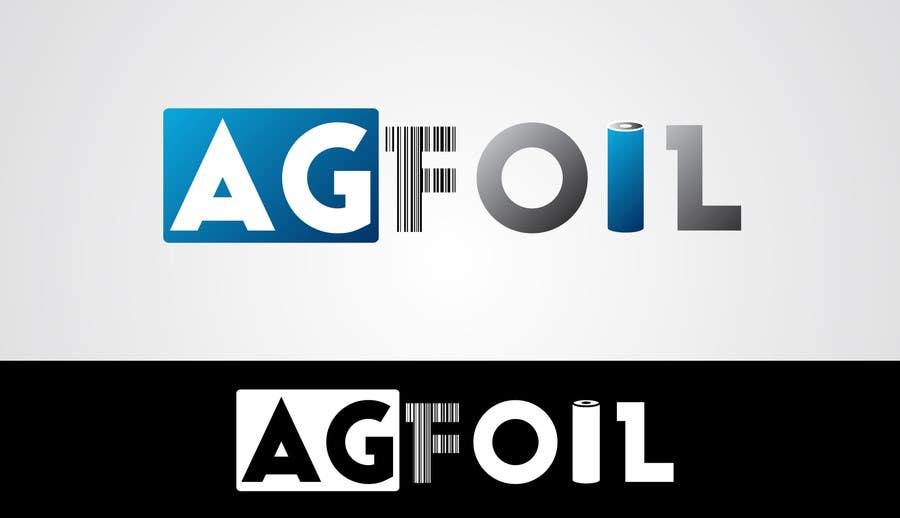 Kilpailutyö #100 kilpailussa Logo Design for AG FOIL