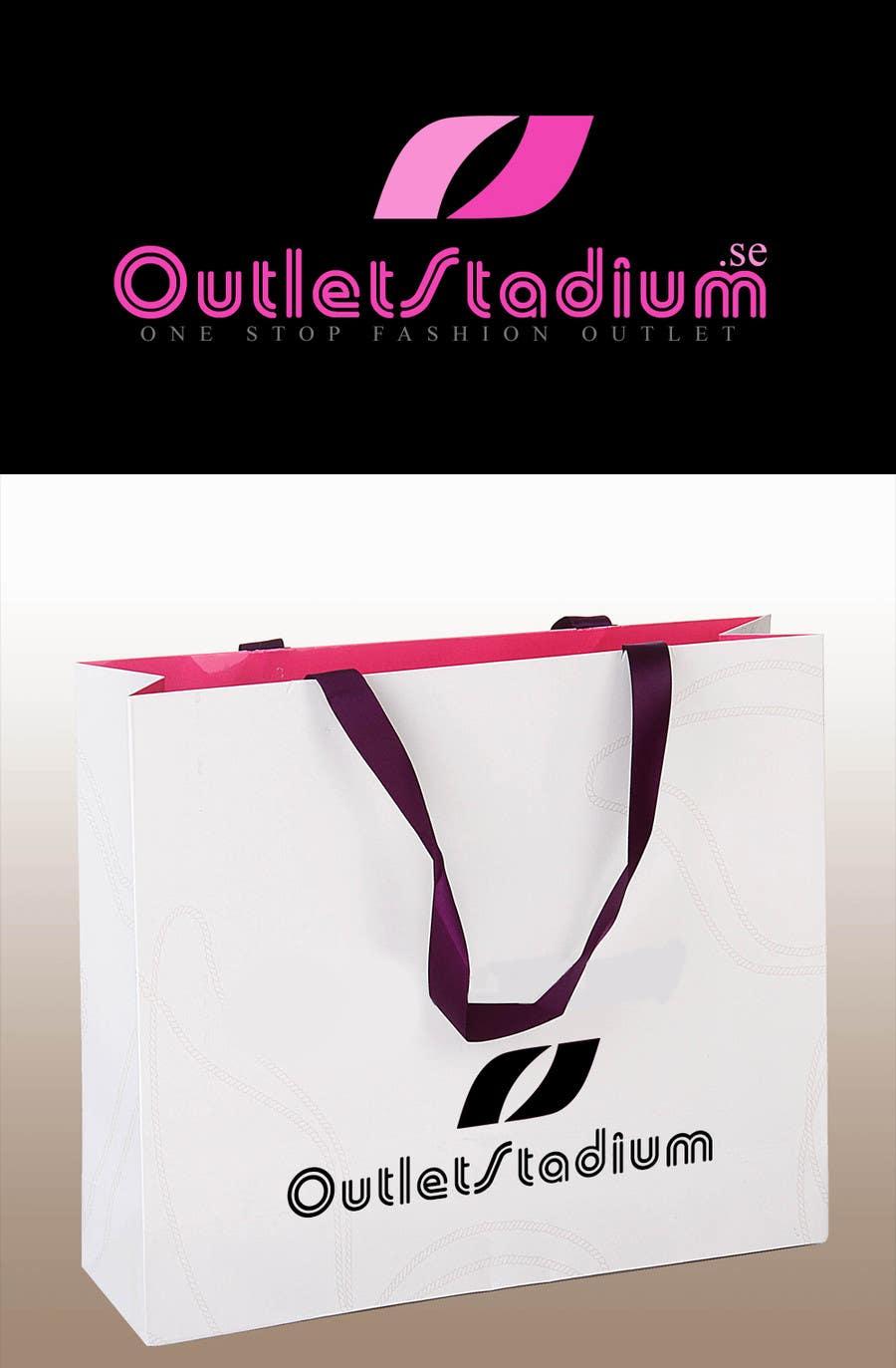 Proposition n°                                        14                                      du concours                                         Logo Design for OutletStadium.se