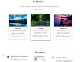 #15 для Need a Single Page bootstrapped responsive UI Home Page only від ankushchak
