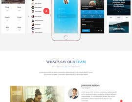 #9 для Need a Single Page bootstrapped responsive UI Home Page only від NusratJahan21