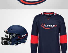 #37 para design a logo for ball hockey brand: stick/ball/protective clothing/helmet/team uniform por gilart