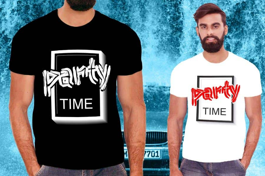 Contest Entry #15 for T-shirt Design   ( party time)