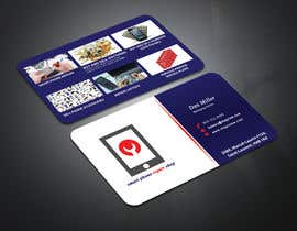 #77 untuk Need business cards template for mobile cell phone/computer repair/ pawn shop store oleh creativeworker07
