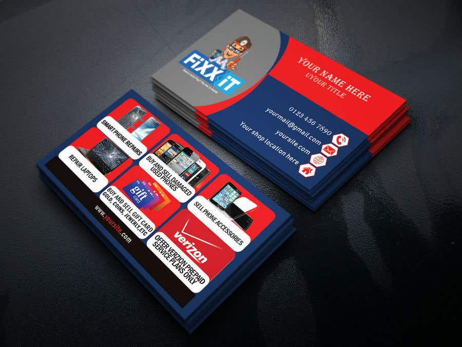 Entry #28 by MehediHasan1139 for Need business cards template for
