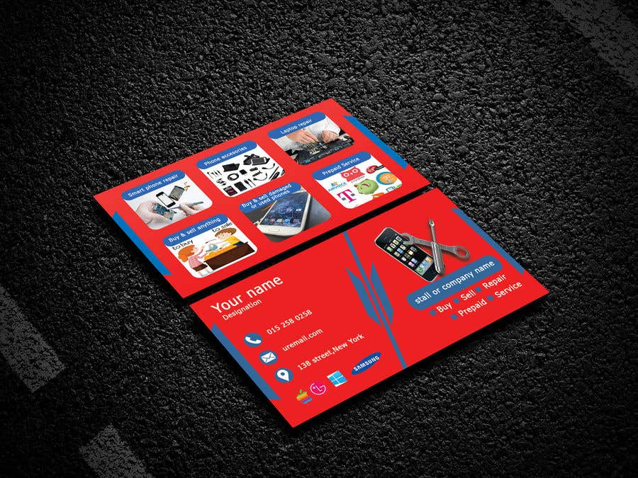 Entry #49 by MehediSunny for Need business cards template