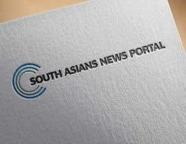 #2 untuk Logo for South Asians  News Portal oleh Xauzinho