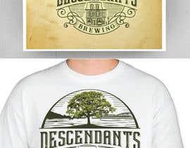#202 dla Descendants Brewing Company Logo przez fourtunedesign