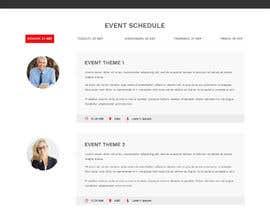 saidesigner87 tarafından Design and Build a WordPress event page için no 6