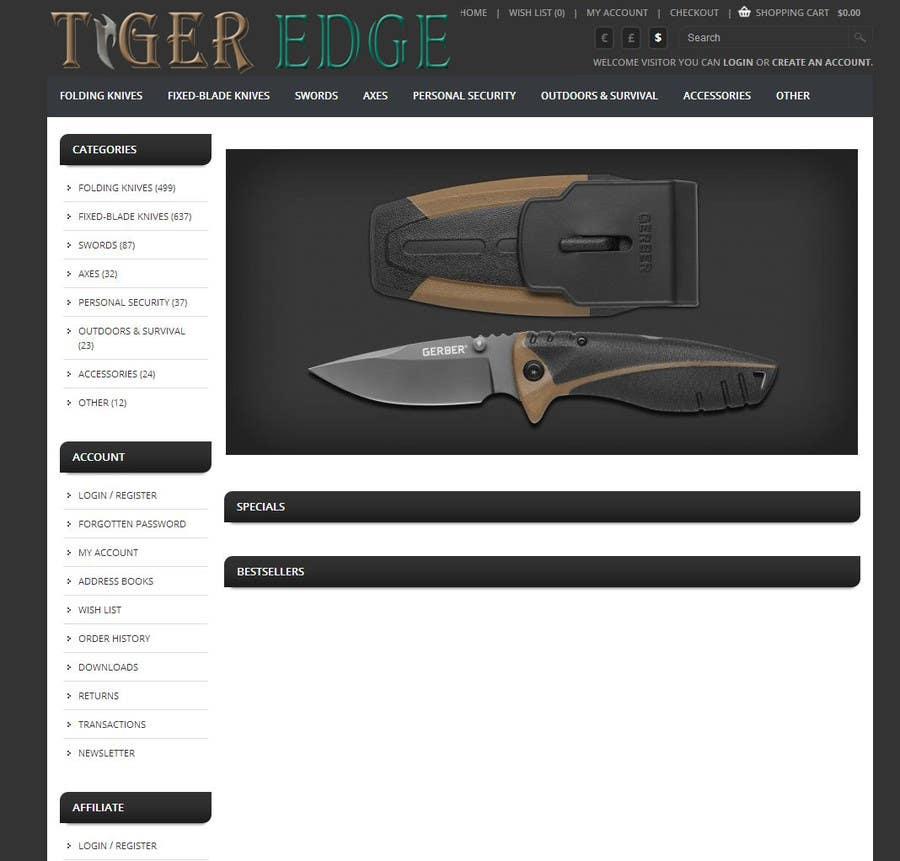 Bài tham dự cuộc thi #38 cho Simple Graphic Design for Tiger Edge