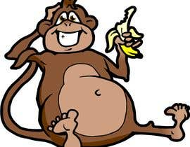 #44 for Original Cute Chubby Monkey af manikmoon