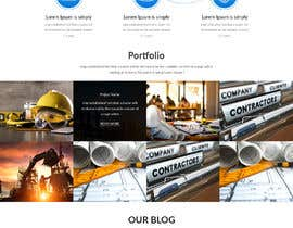 #26 for Marketing Agency Web Design Mockup by xprtdesigner
