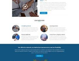 #2 , Marketing Agency Web Design Mockup 来自 Baljeetsingh8551