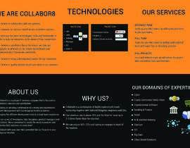 Nro 28 kilpailuun Brochure For Collabor8 käyttäjältä golamrabbani143