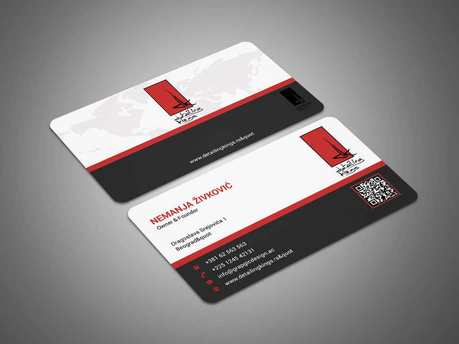 Contest Entry #313 for Design a Business Card for car detailing business