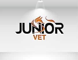 """md9800603 tarafından """"Junior vet"""" Logo için no 174"""