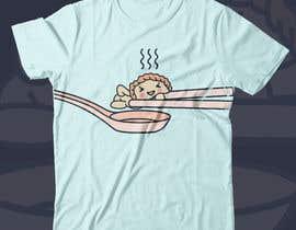 #34 para 5 Foodie T-Shirt Designs por gilart