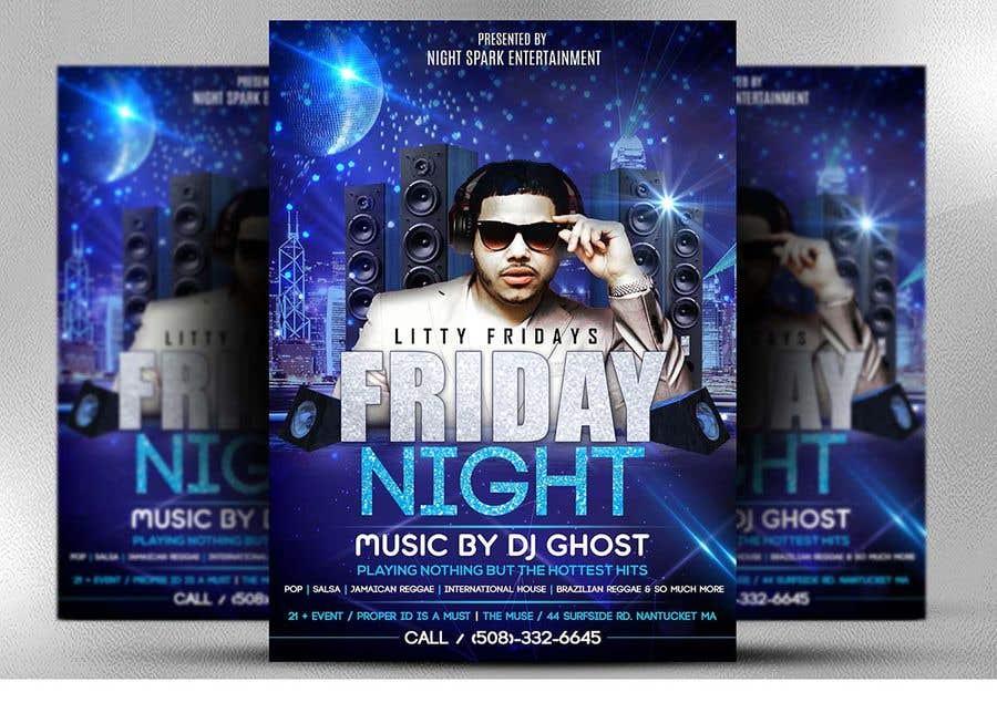 Entri Kontes #130 untukDesign a Night Club Flyer