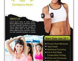 #4 for Promotional flyer for a fitness programme by funsomrat