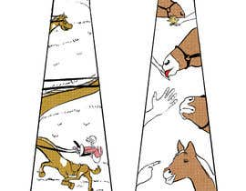 #8 for Design horsey images for men's ties by labtop08