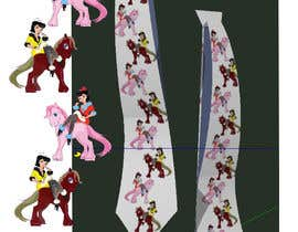 #3 for Design horsey images for men's ties by rogrox