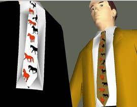 rogrox tarafından Design horsey images for men's ties için no 12