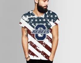 #12 cho Stars & Stripe Tee Shirt Design matching picture bởi audiebontia