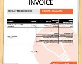 #7 for Design Xero Invoice Template by areverence