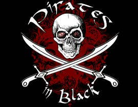 #78 para Logodesign Pirates In Black Band por rasanga3dhr
