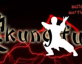#27 para Design of a kungfu contents FB page banner1 de karimelsayed155