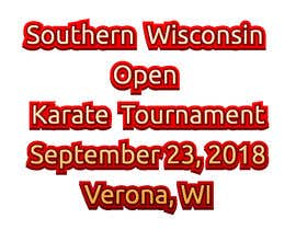 #35 for Southern Wisconsin Open Karate Tournament 2018 af iambedifferent