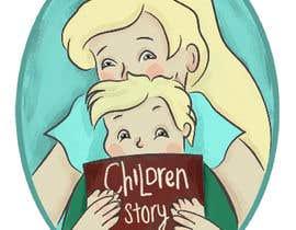 #13 para Logo design for children story book app de andreammontoya
